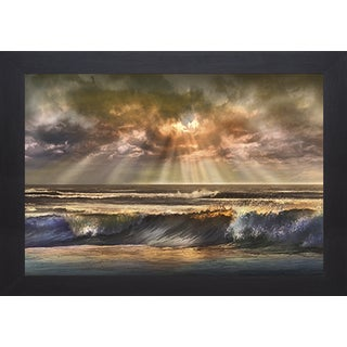 Waves of Light' by Mike Calascibetta Framed Art Print