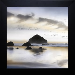 Twilight on the Coastline' by Conrad Kutsen Framed Art Print