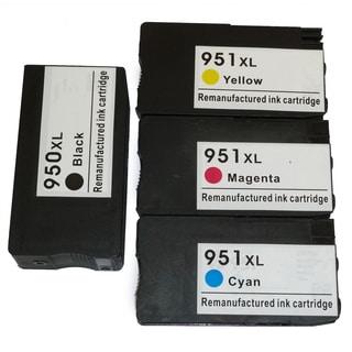 HP 950XL/951XL Black/ Color Ink Cartridge Replacement for CN045AN, CN046AN, CN047AN, CN048AN (#140)