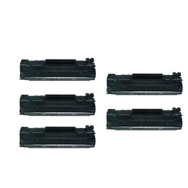 5-Pack HP 12A Q2612A Compatible Toner Cartridge For HP LaserJet 1012 1018 1020 1022 3050 M1319F