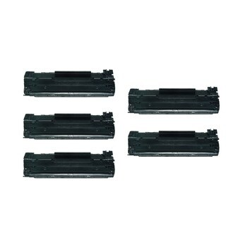 5-Pack HP 12A Q2612A Compatible Toner Cartridge For HP LaserJet 1012 1018 1020 1022 3050 M1319F