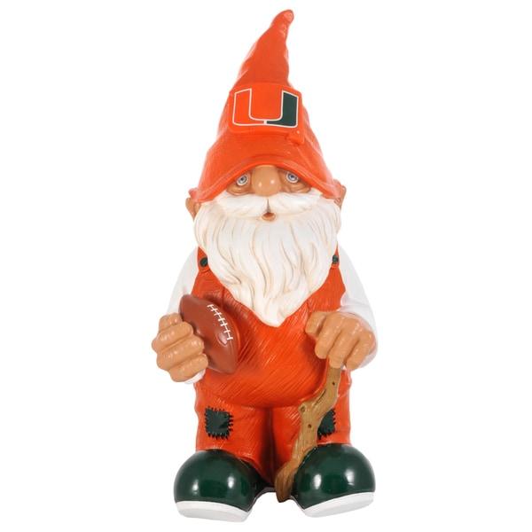 Forever Collectibles NCAA Miami Hurricanes 11-inch Garden Gnome