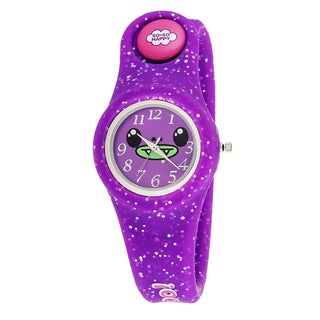 So So Happy Kid's Taco Purple Snap Button Character Watch