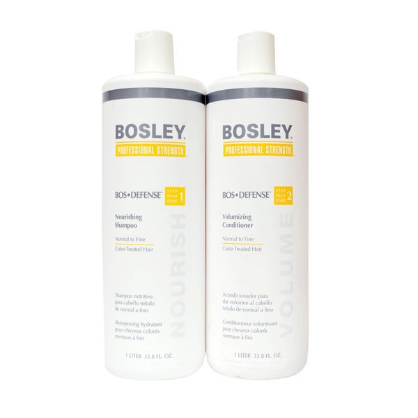 Bosley Defense Nourishing Shampoo And Volumizing