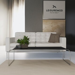 LeisureMod Malvern 53-inch Side/ Coffee Long Table