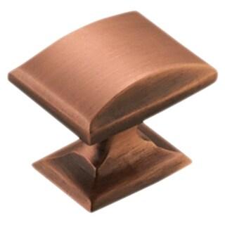 Amerock Candler 1.25-inch Brushed Copper Cabinet Knob (Pack of 5)