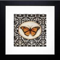 Fanciful Butterfly I' by Tava Studios Framed Art Print - Black