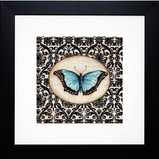 Fanciful Butterfly II' by Tava Studios Framed Art Print