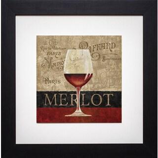 Merlot' by Conrad Kutsen Framed Art Print
