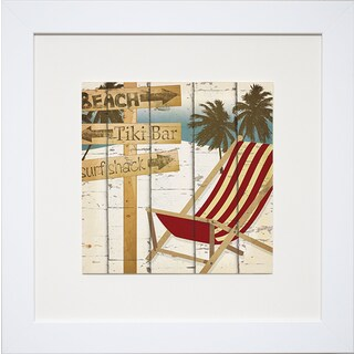 Going to the Beach II' by Katrina Craven Framed Art Print