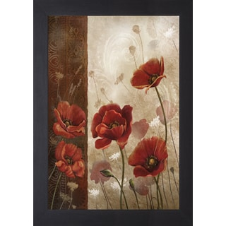 Wild Poppies I' by Conrad Kutsen Framed Art Print