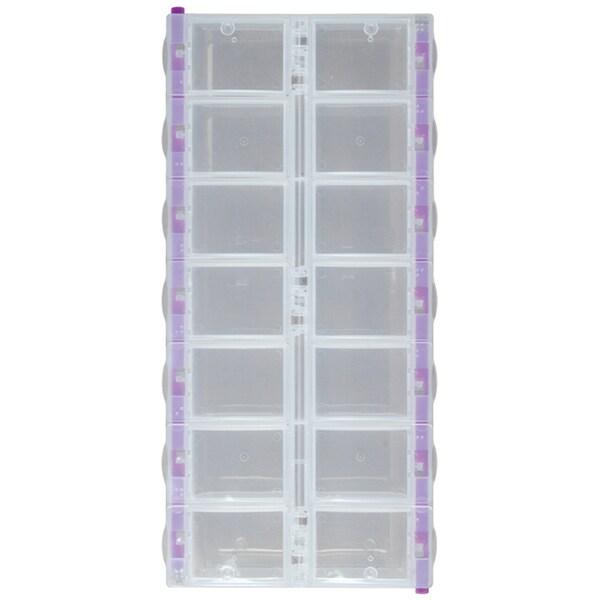 """Craft Mates Lockables 2XL Organizer 14 Compartments-9.25""""X4.25""""X1.25"""""""