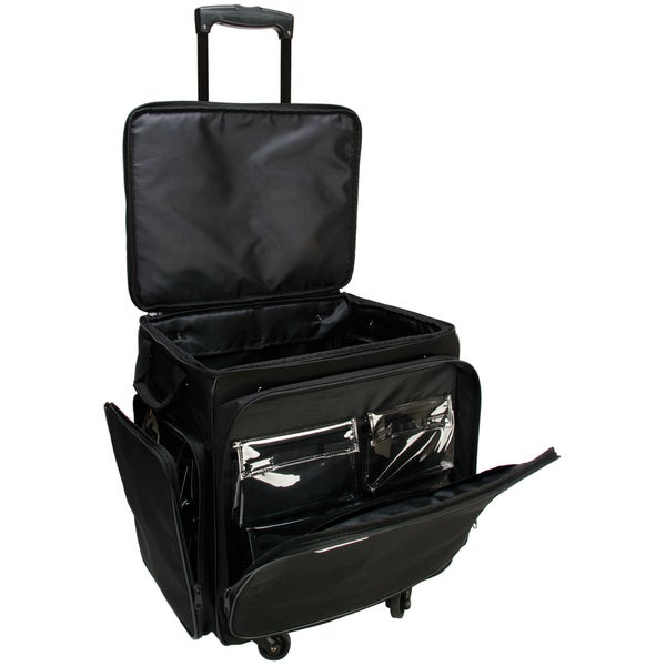 75e2abacd57a Shop GOGO 300 Arts and Crafts Black Spinner Upright Tote Bag - Free ...