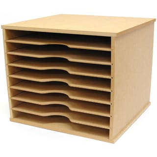 Beyond The Page Mdf Paper Storage Unit