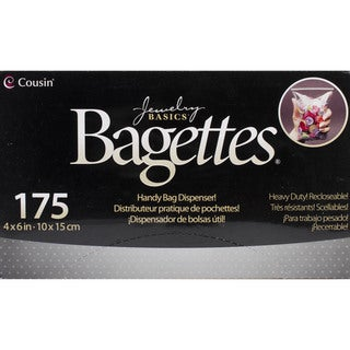 Bagettes Heavy Duty Reclosable Bags 175/Pkg-Clear