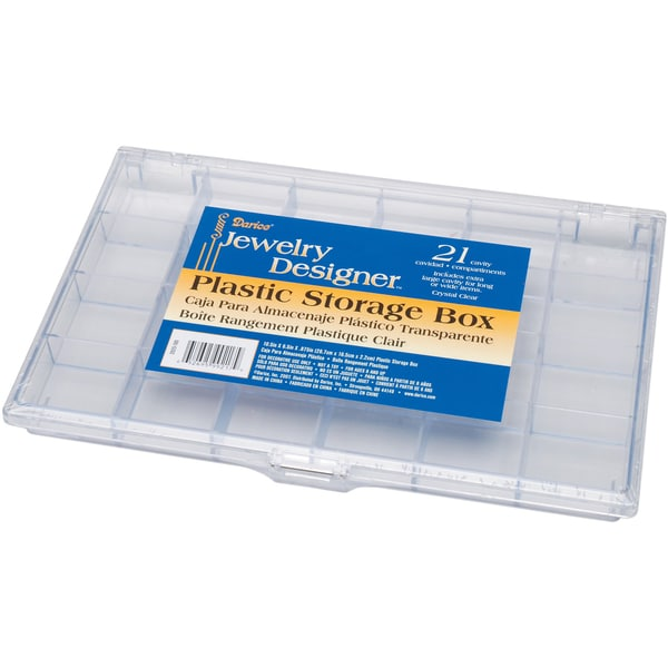 Plastic Storage Box 105X65X875 21 Compartment Free Shipping