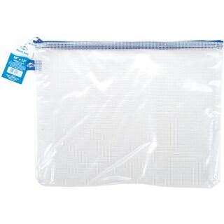 Blue Hills Studion Clear Mesh Bag W/Zipper