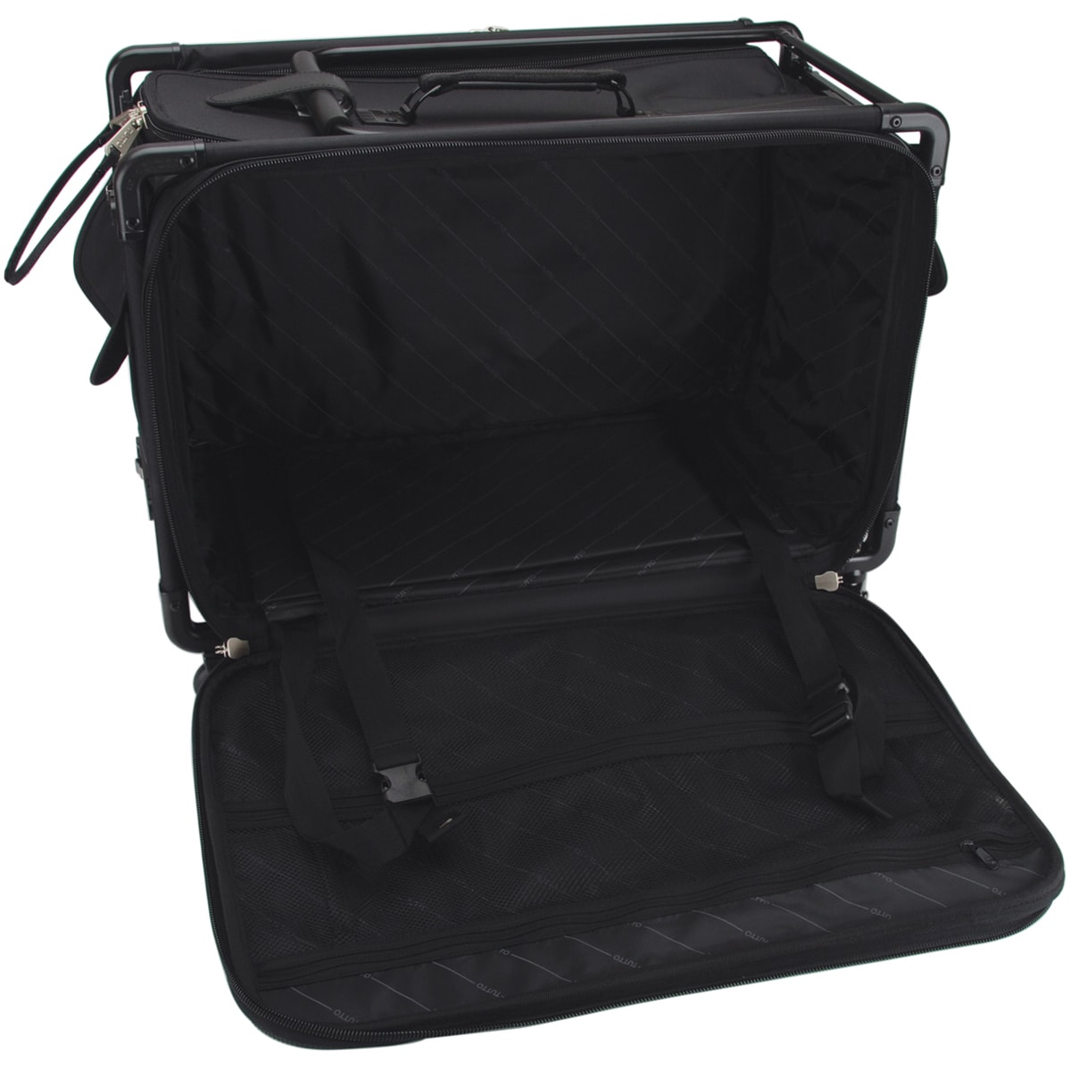 "TUTTO Machine On Wheels Case 27""X16-1/4""X14""-Black (Black)"