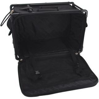 "TUTTO Machine On Wheels Case 27""X16-1/4""X14""-Black"