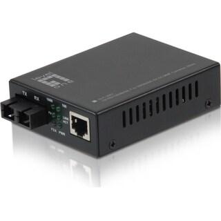 LevelOne GVT-2001 10/100/1000BASE-T to 1000BASE-SX MMF SC Mini Media