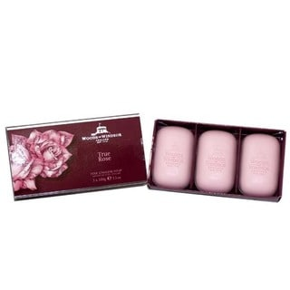 Woods of Windsor True Rose Women's Fine English Soap (Pack of 3)