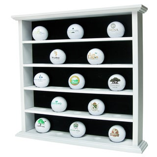 White Golf Ball Cabinet