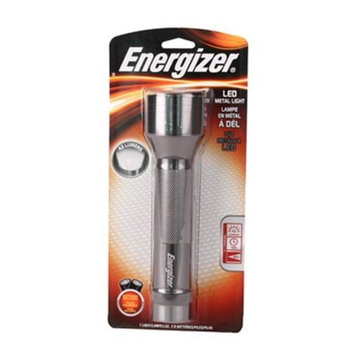 Energizer Metal 6-LED Flashlight (Metal 6 LED), Silver, S...