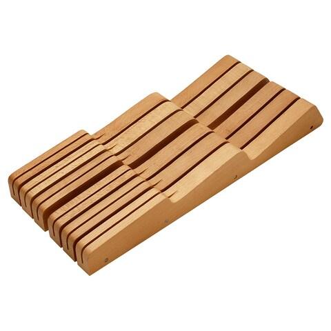 Miu France 11-slot Wood Knife Drawer Tray