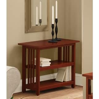 Copper Grove Boutwell Clic Mission Style Under Window Bookshelf 2 Options Available