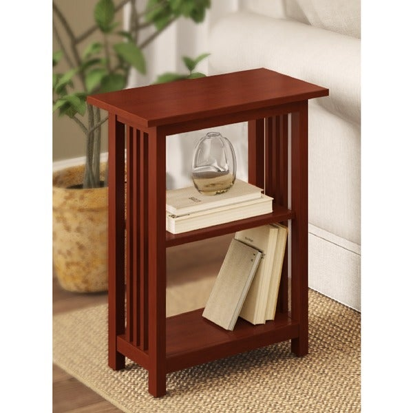 Copper Grove Boutwell Classic Mission 2-shelf End Table
