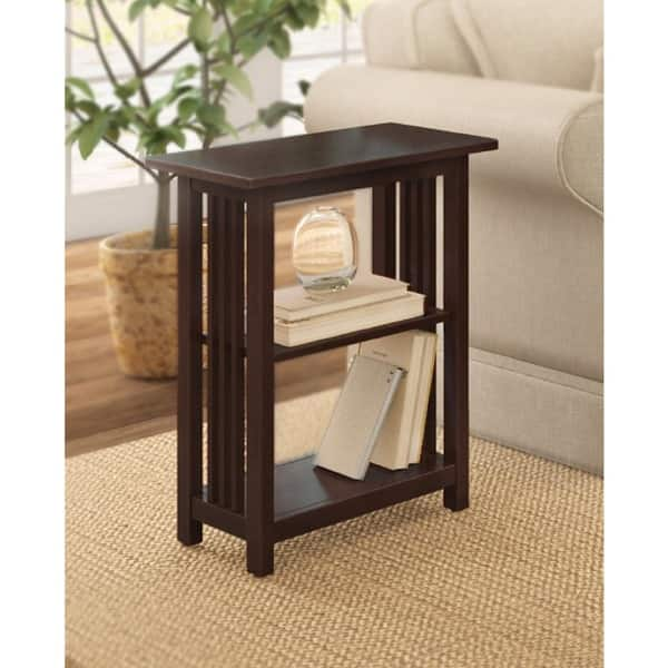 Copper Grove Boutwell Classic Mission 2 Shelf End Table Overstock 20461253