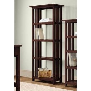 Classic Mission 4-shelf 60-inch H Bookcase