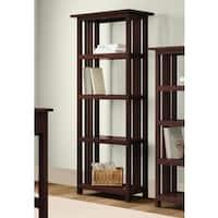 Copper Grove Boutwell Classic Mission 4-shelf 60-inch H Bookcase