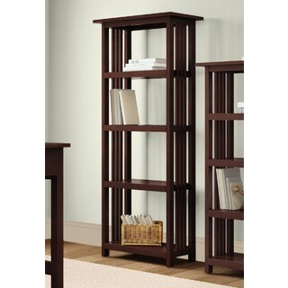 Classic Mission 4-shelf 60-inch H Bookcase
