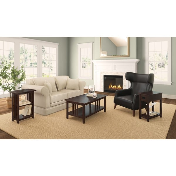 Shop Copper Grove Boutwell Classic Mission 42 Inch Coffee Table
