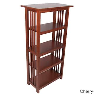 Copper Grove Boutwell Clic Mission Wood 48 Inch Bookcase With 4 Shelves
