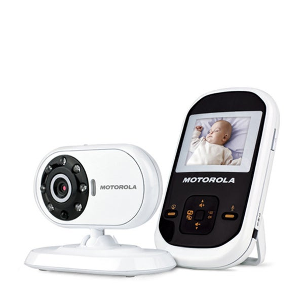 motorola mbp 18 digital wireless video baby monitor free shipping today 16176830. Black Bedroom Furniture Sets. Home Design Ideas