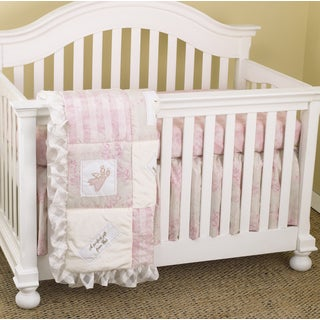 Cotton Tale Heaven Sent Girl 3-piece Crib Bedding Set
