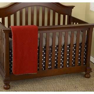 Cotton Tale Houndstooth 3-piece Crib Bedding Set