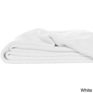 Eddie Bauer Herringbone Cotton Blanket (More options available)