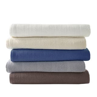 Eddie Bauer Herringbone Cotton Blanket|https://ak1.ostkcdn.com/images/products/8967762/P16176868.jpg?impolicy=medium