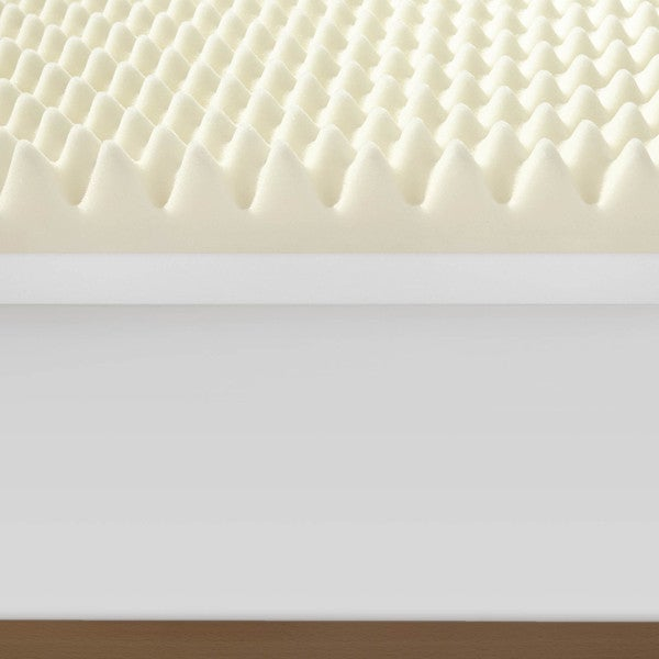 serta renewal 4inch duallayer memory foam mattress topper free shipping today - Serta Mattress Topper