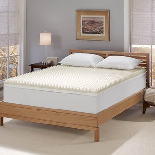top product reviews for serta renewal 4 inch dual layer memory foam mattress topper 8967777. Black Bedroom Furniture Sets. Home Design Ideas
