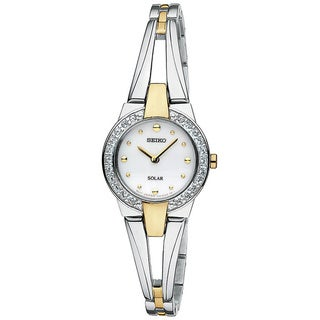 Seiko Women's SUP206 Stainless Steel Bracelet Watch