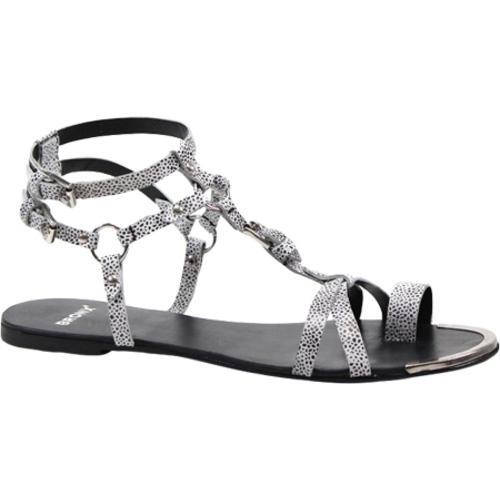 Shop Women S Bronx Ask Away White Black Speckled Leather