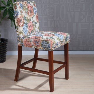 Madison Park Hayes Tufted Back Counter Stool 18195302