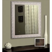 Maison Rouge American Made Horace French Victorian White Wall/ Vanity Mirror