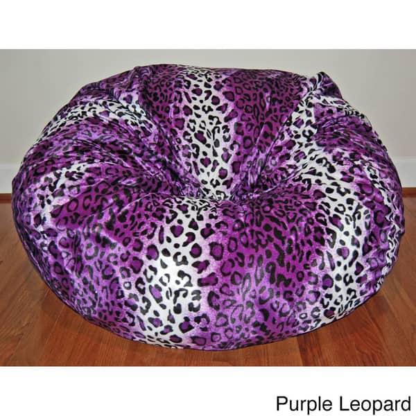 Phenomenal Shop Faux Animal Fur Washable 36 Inch Bean Bag Chair Free Uwap Interior Chair Design Uwaporg