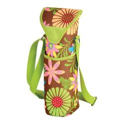 Picnic at Ascot Single Bottle Tote 13in Floral