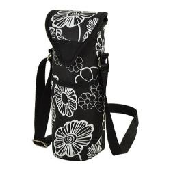 Picnic at Ascot Single Bottle Tote 13in Night Bloom